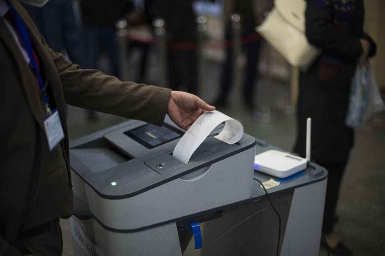 Результаты краткосрочного наблюдения по процессу голосования на 20.00