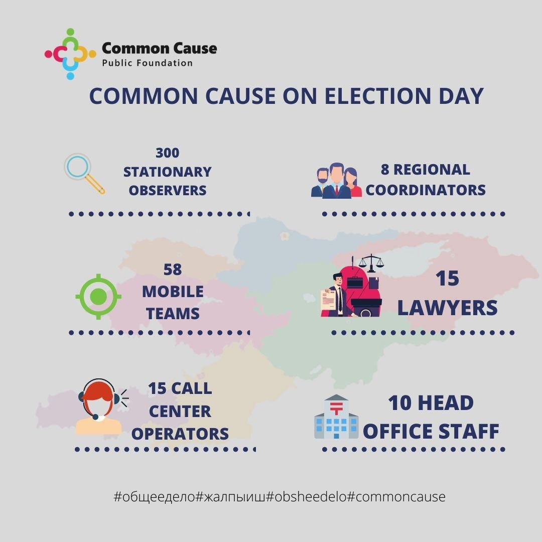 Common cause on Election Day